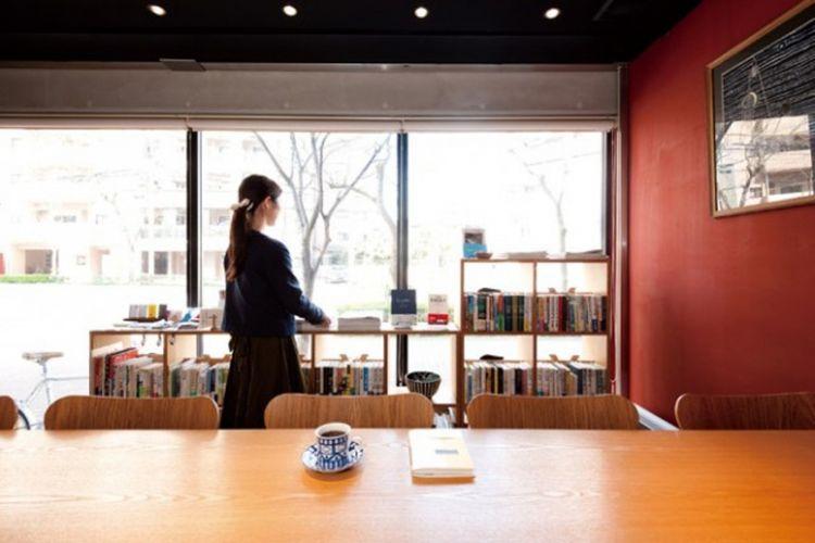 Kafe goseki books & coffee