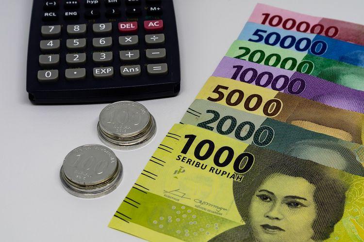 Ilustrasi pecahan rupiah