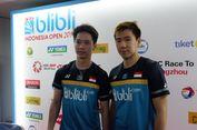 Indonesia Open 2019, Marcus/Kevin Merasa Hoki Saat Partai Final
