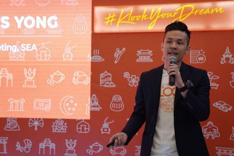 Head of Marketing Southeast Asia Klook Travel Technology, Marcus Yong