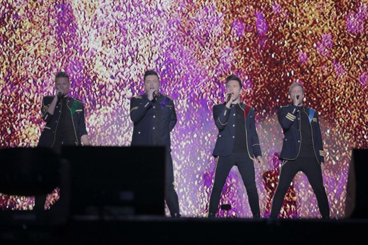 5 Pencuri Perhatian dalam Konser Westlife The Twenty Tour