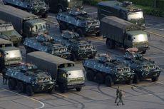 Pasukan Paramiliter China Gelar Latihan di Perbatasan Hong Kong