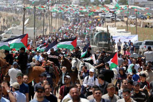 Peringati Hari Nakba, 65 Warga Palestina Terluka Saat Unjuk Rasa di Gaza