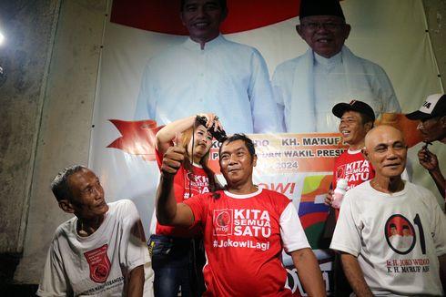 Yakin Jokowi Menang, Relawan Projo di Jombang Cukur Gundul