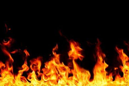 Suzuki Carry yang Terbakar Depan Masjid Istiqlal Diduga karena Korsleting
