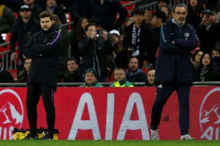 Mauricio Pochettino dan Maurizo Sarri menjadi kandidat kuat pelatih Juventus musim depan.