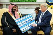 Trump Sepakat Jual Senjata Rp 13,7 Triliun ke Arab Saudi