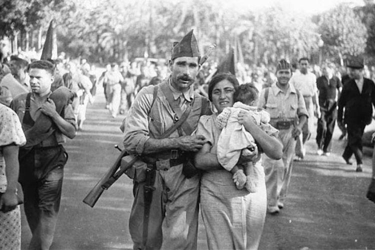 Spanish civil war.