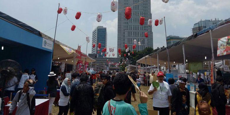Jak-Japan Matsuri 2017 diselenggarakan 9-10 September 2017 di Lapangan Wisma Aldiron, Jakarta Selatan.