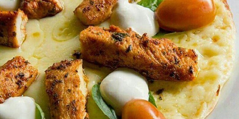 Grilled Chicken Caprese Quesadilla di Restoran El Asador, Kemang, Jaksel.