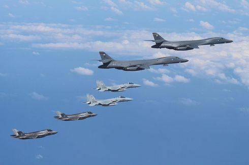 Meski Diancam Ditembaki Korut, Enam Jet AS Terbang di Udara Korea