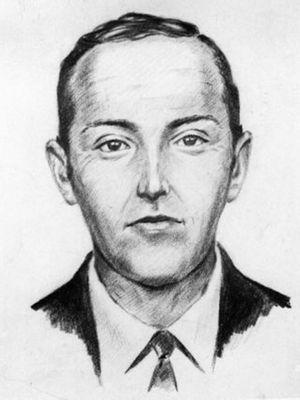 D.B Cooper, pria tak teridentifikasi yang membajak pesawat terbang Boeing 727