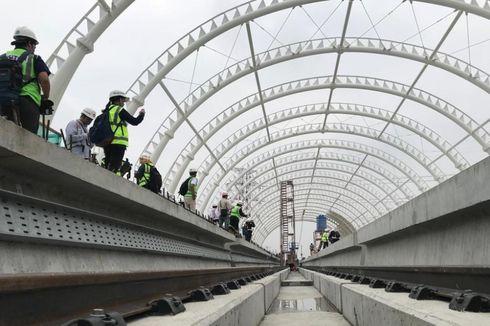 Saat Pembangunan LRT Jabodebek Dikritik Wapres Kalla...