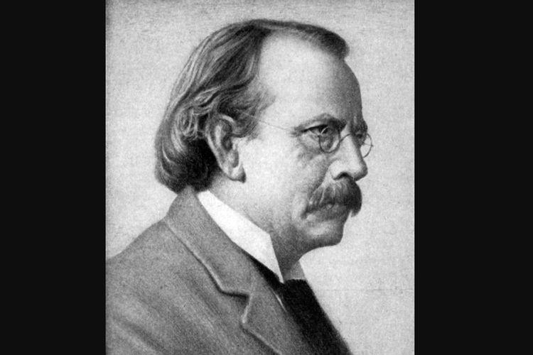 Fisikawan Inggris, Joseph John Thomson pada tahun 1920-an.