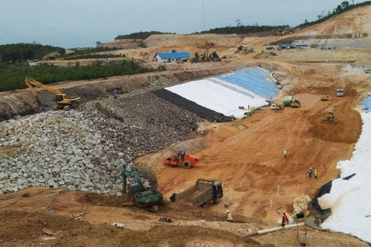 Proyek Waduk Nasional, Sei Gong Batam, Kepri yang kapasitasnya mencapai 11,8 Juta M3 dengan daya suplay air baku sebesar 400 liter per-detik serta menyerap anggaran Negara kurang lebih Rp 1 Triliun ini, terancam gagal.