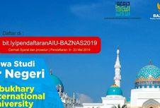 Beasiswa S-1 Malaysia dari BAZNAS dan Universitas Albukhary