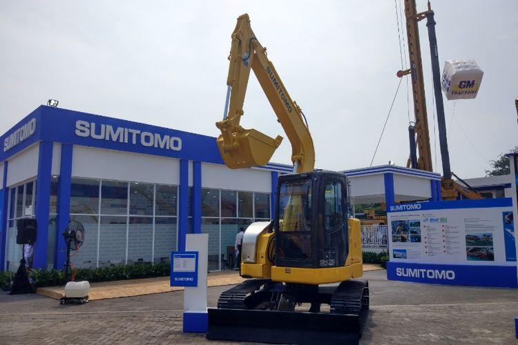 Alat berat Sumitomo dari Jepang
