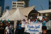18-8-2018, Menteri Susi Ajak Masyarakat Bersih-bersih Pantai