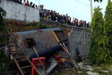 Bus Masuk Jurang di Bantul, Seorang Penumpang Tewas