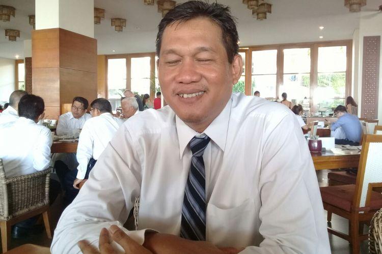 Direktur Bisnis Regional Sumatera PLNWiluyo Kusdwiharto dalam sebuah kesempatan di Nusa Dua, Bali, Kamis (12/4/2018).