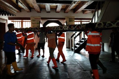 PPSU Dikerahkan untuk Bersihkan Puing Museum Bahari