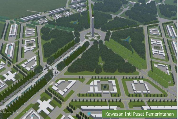 Kawasan inti pusat pemerintahan ibu kota negara