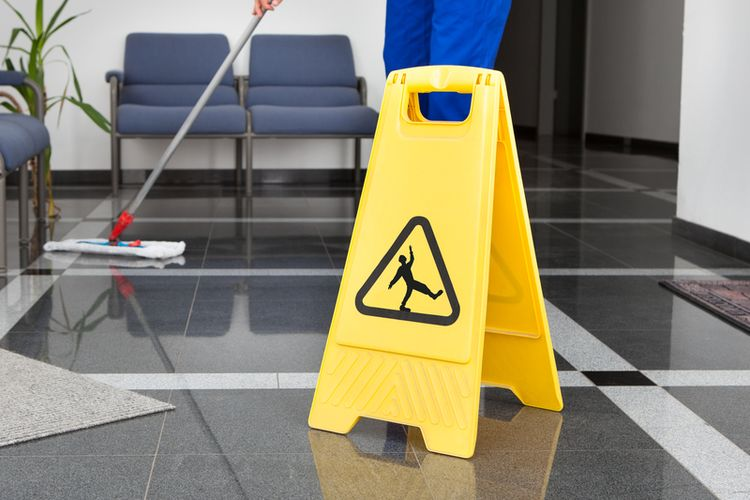 Ilustrasi petugas kebersihan
