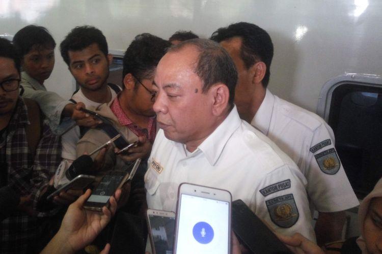 Direktur Komersial dan Teknologi Informasi PT KAI, Apriyono Wedi Chresnanto