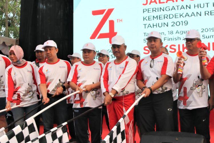 Di Kaltara, BUMN Meriahkan HUT RI dengan Jalan Sehat Bersama Masyarakat
