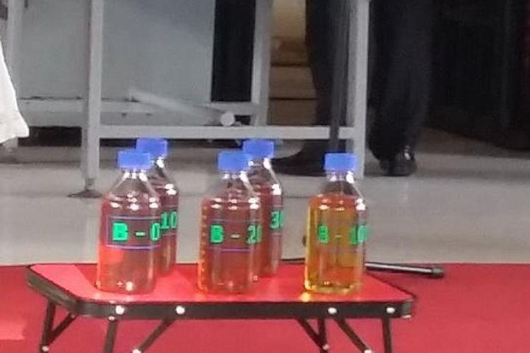 Contoh Biodiesel 20 persen (B20)