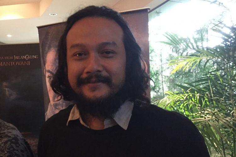 Dwi Sasono menghadiri pemutaran film Gerbang Neraka di XXI Epicentrum, Jakarta Selatan, Rabu (13/9/2017).