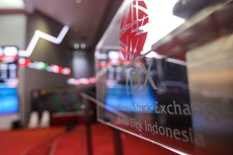 Suasana di Bursa Efek Indonesia (BEI), Jakarta, Senin (21/5/2018).