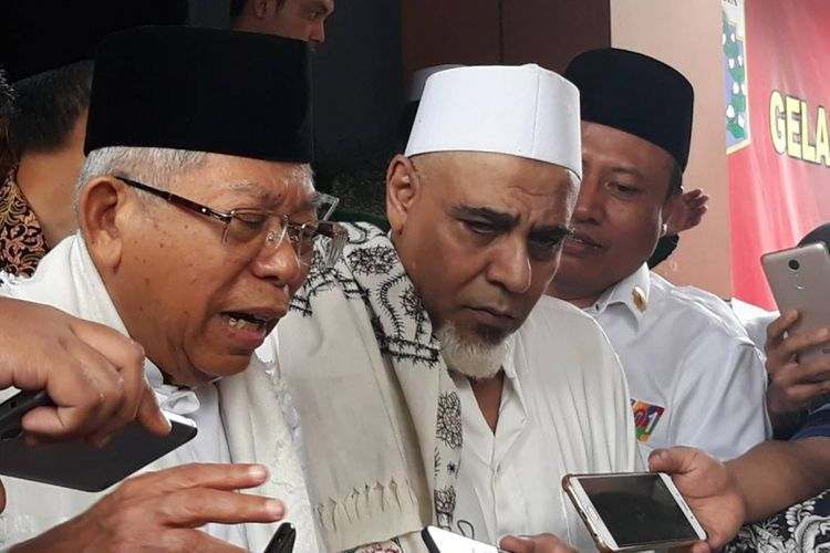 Calon wakil presiden nomor urut 01, Maruf Amin.