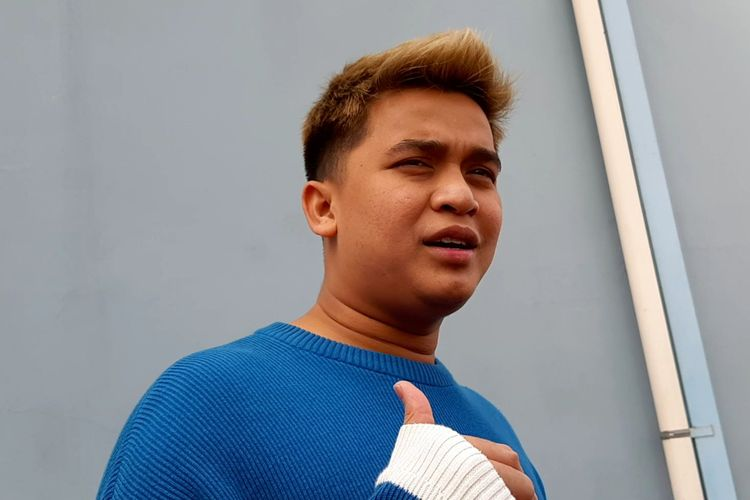 Billy Syahputra saat ditemui di kawasan Tendean, Jakarta Selatan, Senin (13/5/2019).