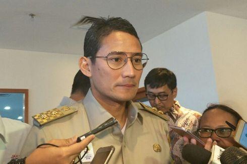 Sandiaga Berseloroh Sebut Gubernur Anies Nakal...