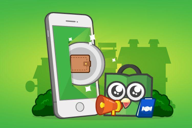 Tokopedia memiliki layanan dompet digital Tokocash.