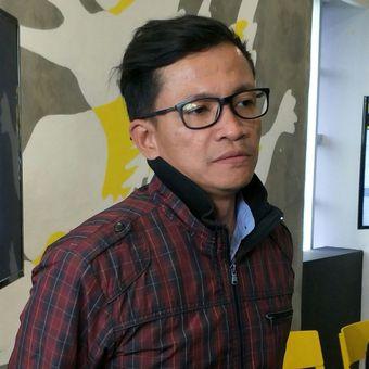 Direktur Eksekutif Amnesty Internasional Indonesia Usman Hamid, Jakarta, Rabu (22/2/2018).