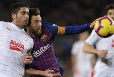Barcelona Vs Eibar, Messi Cetak Gol Ke-400 di Liga Spanyol
