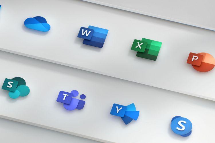 Ikon-ikon Microsoft Office yang baru