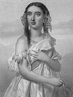 Lukisan yang menggambarkan Pocahontas. (Wikipedia)