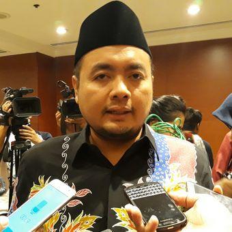 Anggota Bawaslu RI Mochammad Afifuddin usai Rapat Penetapan DPS dan DPSLN Pemilu 2019 di Jakarta, Sabtu (23/6/2018).