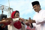 Kue Ulang Tahun Jokowi di Kampanye Terbuka Gus Ipul-Puti