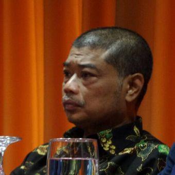 Pengamat sosial Benny Susetyo dalam sebuah diskusi bersama Koalisi Masyarakat Sipil di Menteng, Jakarta Pusat, Rabu (10/5/2017).