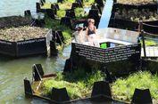 Sampah Plastik Didaur Ulang Jadi Taman Terapung