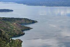 Melihat Keindahan Danau Toba dari Ketinggian