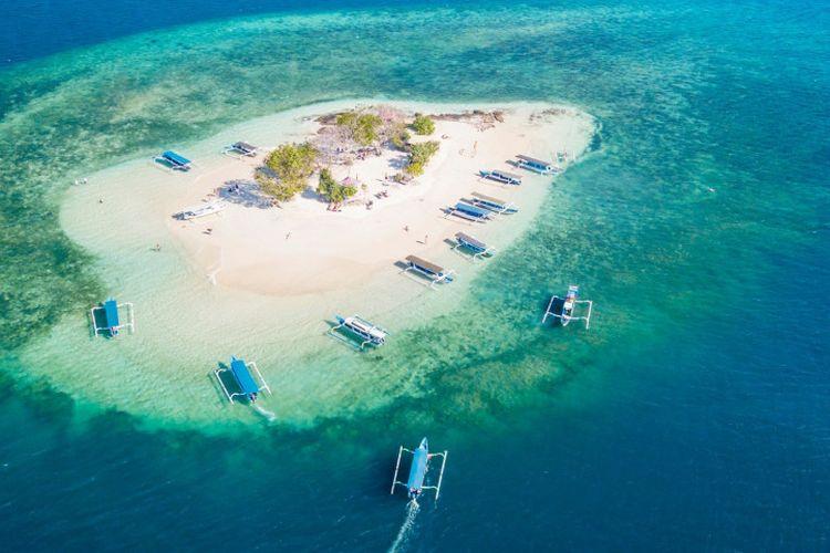 Tergoda dengan Gili Kedis, Pulau Kecil yang Menawan Hati