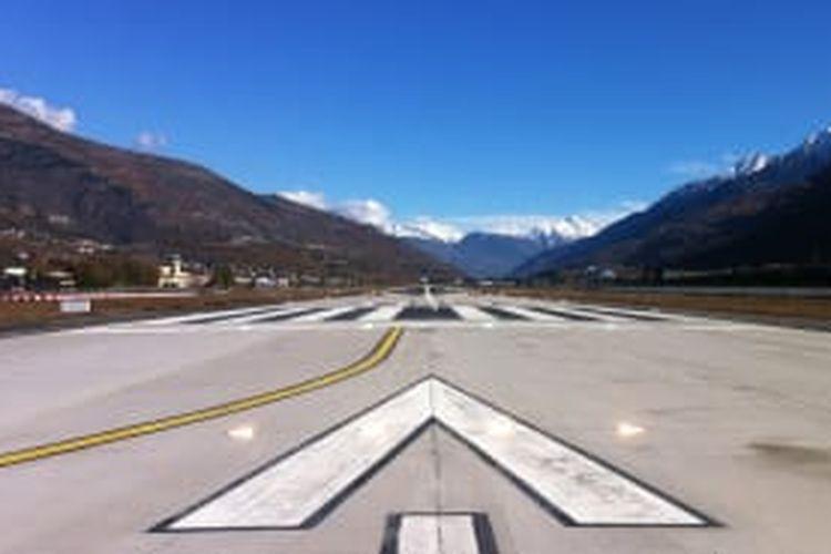 Aosta Valley Airport, Italy