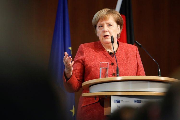 Kanselir Jerman Angela Merkel.
