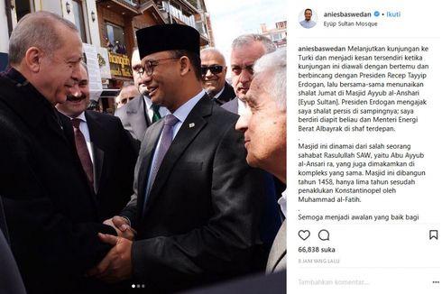 3 Hal Menarik dari Pertemuan Gubernur Anies dan Presiden Turki Erdogan