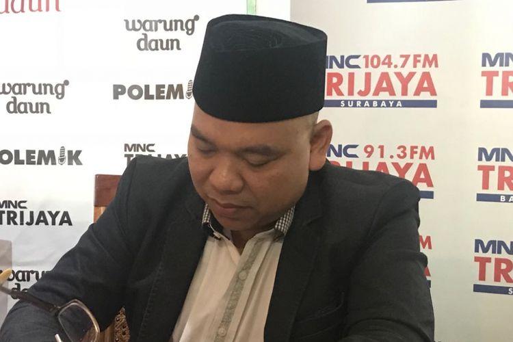 Relawan #2019GantiPresiden Mustofa Nahrawardaya